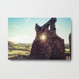 Scottish Ruins Metal Print