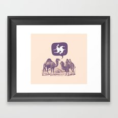 Sexual Healing Framed Art Print