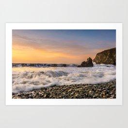 Copper Coast Sunrise 1 Art Print