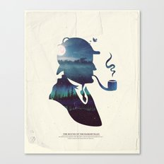 Sherlock - The Hound of the Baskervilles Canvas Print