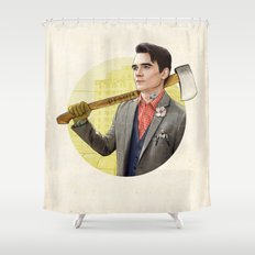 Mr. Michigan Shower Curtain