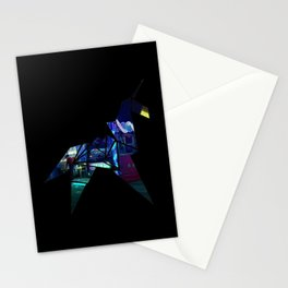 Horse Origami Stationery Cards