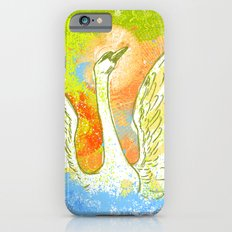 Swan Splash iPhone 6s Slim Case