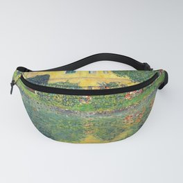 "Gustav Klimt ""Schloss Kammer on the Attersee IV"" Fanny Pack"