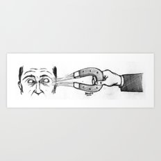 Faits-Diversion Art Print