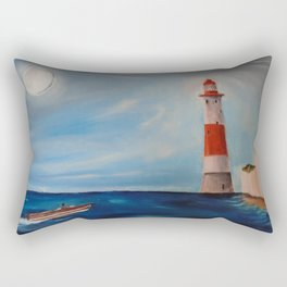 Beachy Head Lighthouse Rectangular Pillow