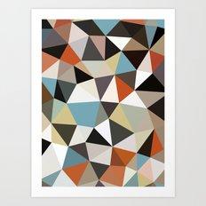 Arizona Tris Art Print