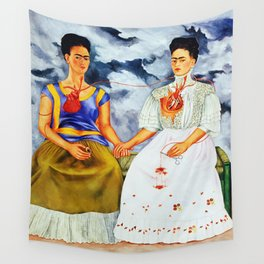 TWO FRIDAS Wall Tapestry