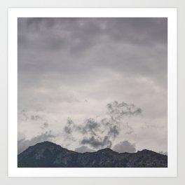 Mountain Ridge Art Print