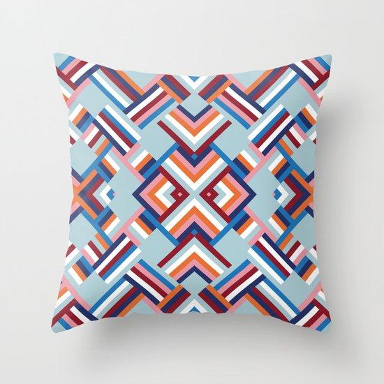 Herringbone Pattern No.2 Throw Pillow