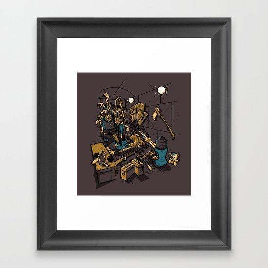 SURVIVOR Framed Art Print