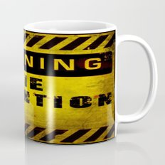 Warning - Zombie Detention Area Mug