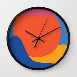 Mid Century Wall Art Black and White Mid Century Modern Art Print Retro Art Print Geometric Minimal Wall Clock
