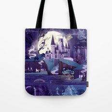 Never a Quiet Year at Hogwarts Tote Bag