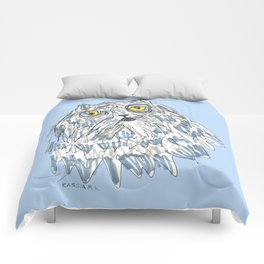 Grouchy Cat Master 3000 Comforters