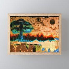 New world order Framed Mini Art Print