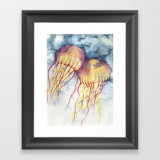 Shock Therapy/Jelly Fish Framed Art Print