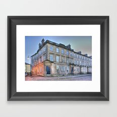 Carlton Street Glasgow  Framed Art Print