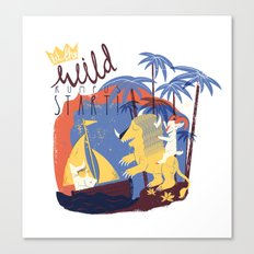 WILD RUMPUS Canvas Print