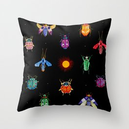 Jewelbugs Throw Pillow
