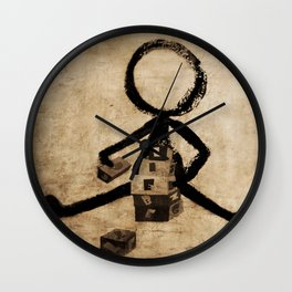 baby know Wall Clock