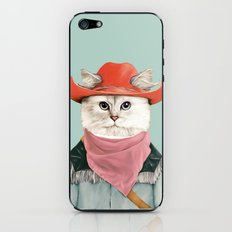 Rodeo Cat iPhone & iPod Skin