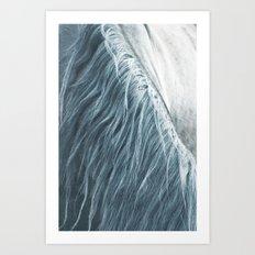 Horse mane - fine art print n°1 Art Print