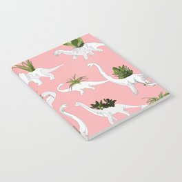 Dinosaurs & Succulents Notebook