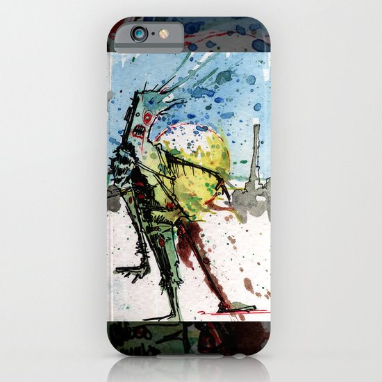desert zombie iPhone & iPod Case