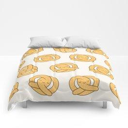 Happy Pretzel Comforters