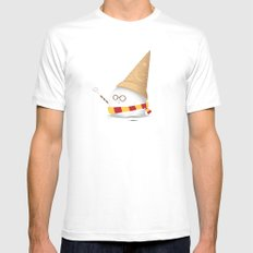 Invisibility Spell Mens Fitted Tee White MEDIUM