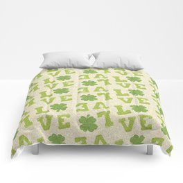 St. Patricks Day Pattern Comforters