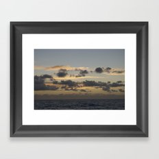 Pacific Sunset Framed Art Print