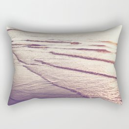 Golden Tides Rectangular Pillow