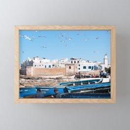 Essaouira in Morocco Framed Mini Art Print