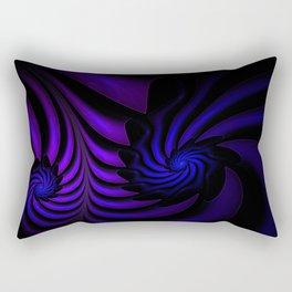 Spiral abstract fractal Rectangular Pillow