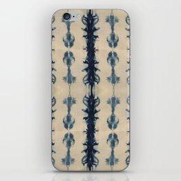 Shibori Flowers iPhone Skin