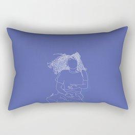 Princess blue Rectangular Pillow