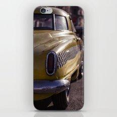 A Yellow Cab  iPhone & iPod Skin
