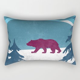 Bear pride walk Rectangular Pillow