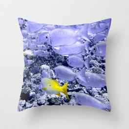 Bigeye and Yellowtail Snapper Throw Pillow