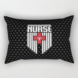 Nurse Shield Rectangular Pillow