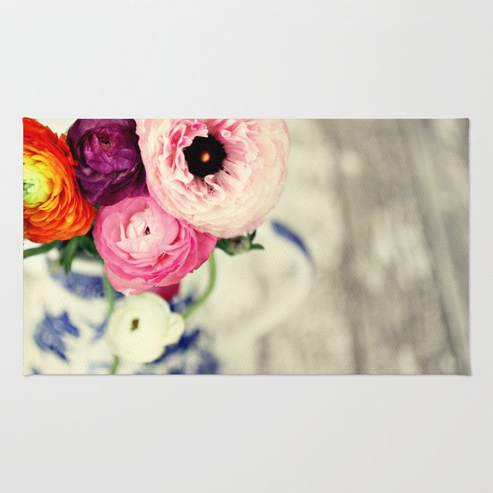colors of happiness Rug