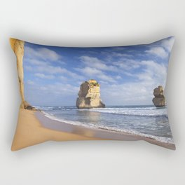 V - Twelve Apostles on the Great Ocean Road, Australia Rectangular Pillow