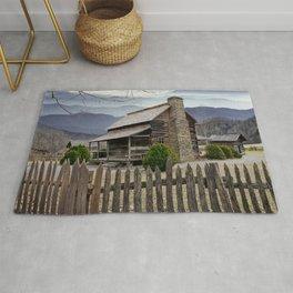 Appalachian Mountain Cabin Rug