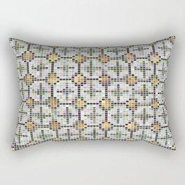 Pixel Art Mosaic #32 Rectangular Pillow