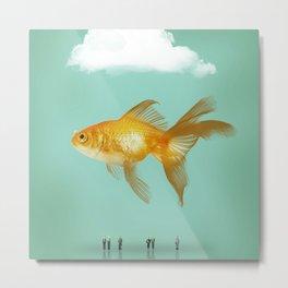 BALLOON FISH  III Metal Print