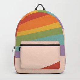 Rainbow Stripes 4 Backpack
