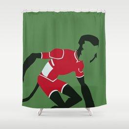 Beast Boy Minimalism Shower Curtain