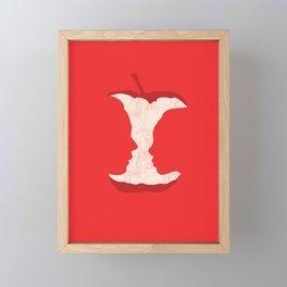 The apple of my eye Framed Mini Art Print